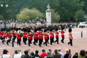 Changing of the Guard, Buckingham Palace, London, England