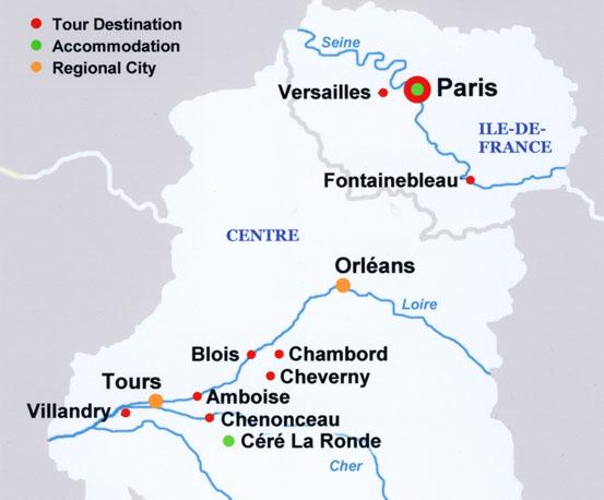 Amboise France Map.Travel Pix France